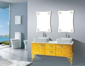 彩色不銹鋼浴室柜