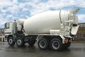 欧曼底盘 混凝土搅拌运输车