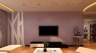 硅藻泥電視背景墻