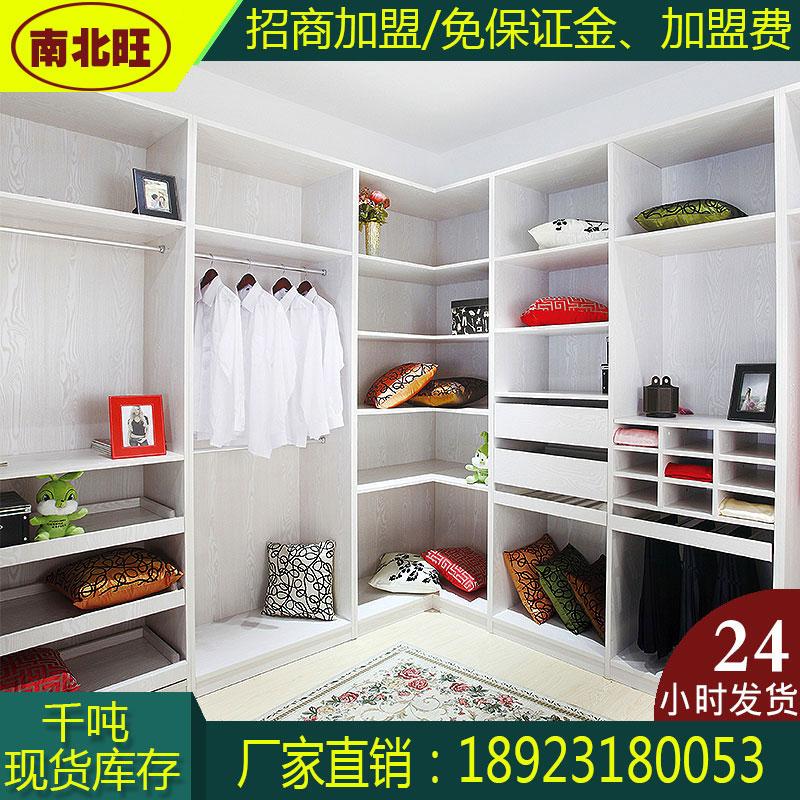 新款現代簡約衣柜全鋁家具型材全鋁衣柜