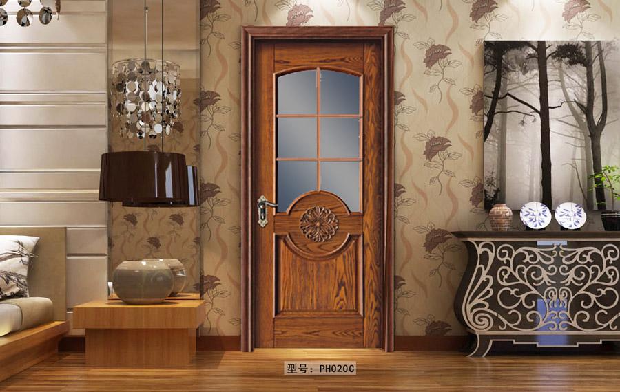 盼盼原木門PH020C|室內門|盼盼木門