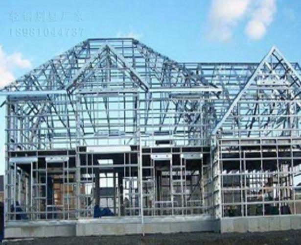 西藏輕鋼別墅施工快耐候性強防火抗震建筑