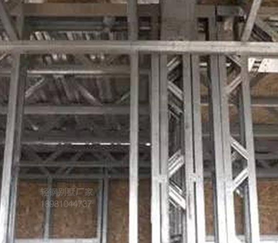 貴州優質輕鋼別墅防火建筑骨架詳情來電