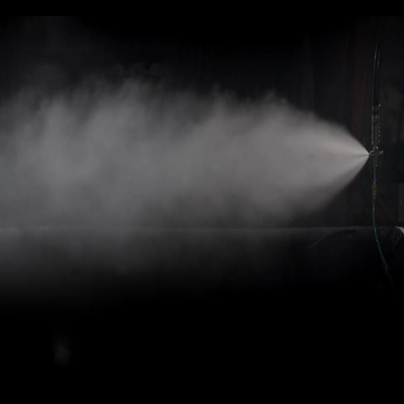 克拉瑪依鋼廠卸船機納米級微霧除塵系統