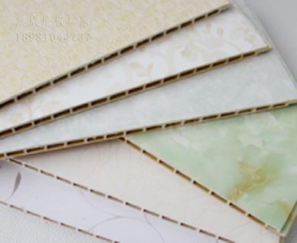 資陽集成墻板保溫防火防潮加厚木紋集成墻板
