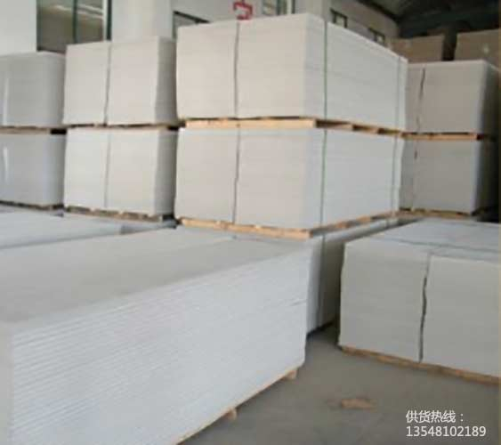 西昌硅酸钙板装饰隔墙用轻质防火砂光板