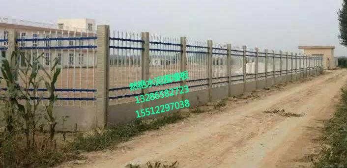 水泥围墙板,临时圈地用围墙板,养殖场围墙