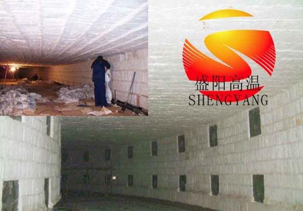 建筑用防火卷簾毯 10mm厚硅酸鋁針刺毯