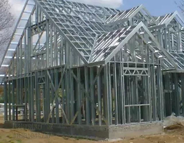 貴州輕鋼別墅多種類型都有歡迎定制廠家價
