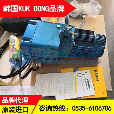 1噸KD環鏈電動葫蘆圖片 礦業用韓國進口