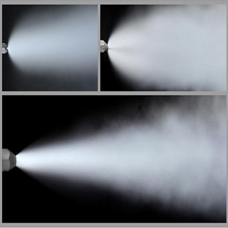 篩子出口落煤斗納米級微霧抑塵系統