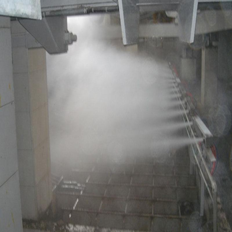 火力發電廠翻斗機粉塵治理微霧抑塵裝置