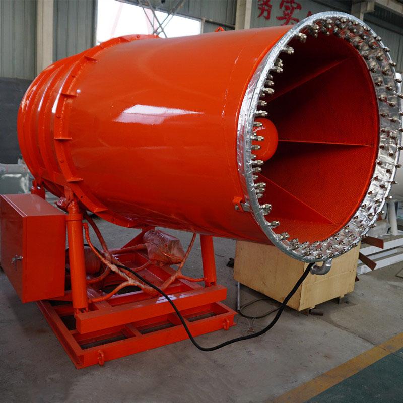 呂梁電廠堆煤場全自動智能粉塵控制器