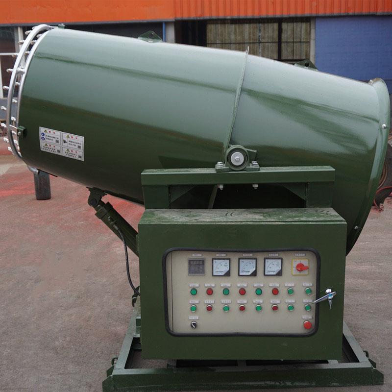 咸陽堆場煤棚風送式防爆霧炮機