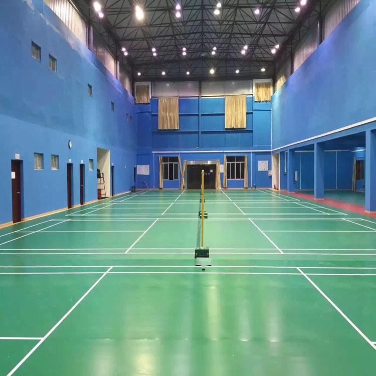 乒乓球室专用地板 舞蹈发地板安装塑胶地板