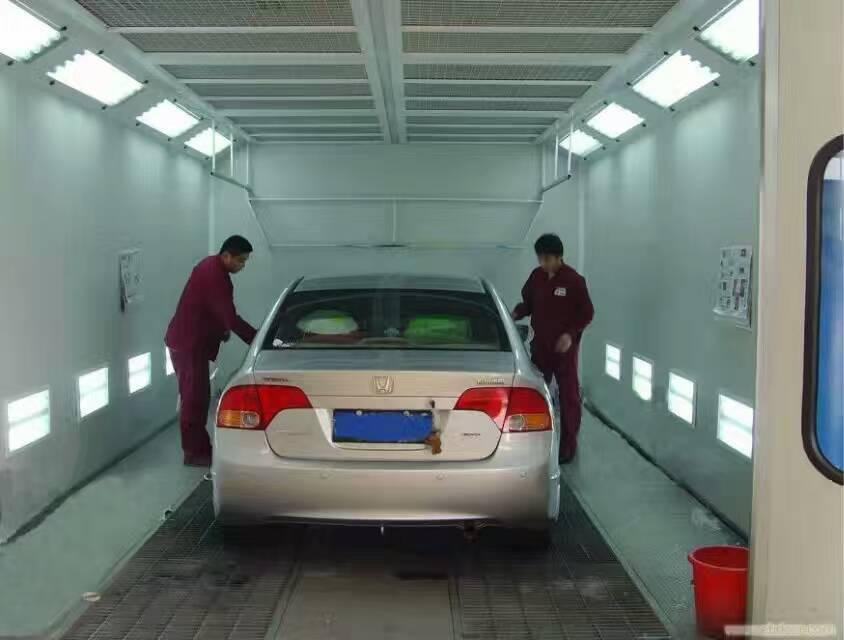 北京豪华型汽车烤漆房设备活性炭箱伟航