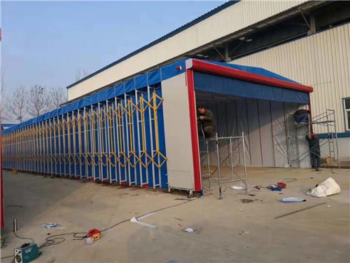 辽宁供应环保移动伸缩房设备高温喷漆房厂家