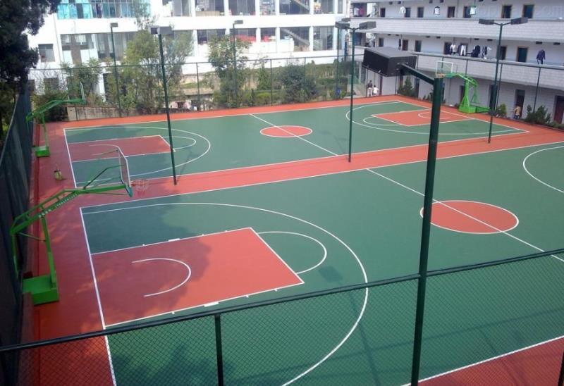 广东邦禾体育 云南省 硅Pu篮球场材料厂