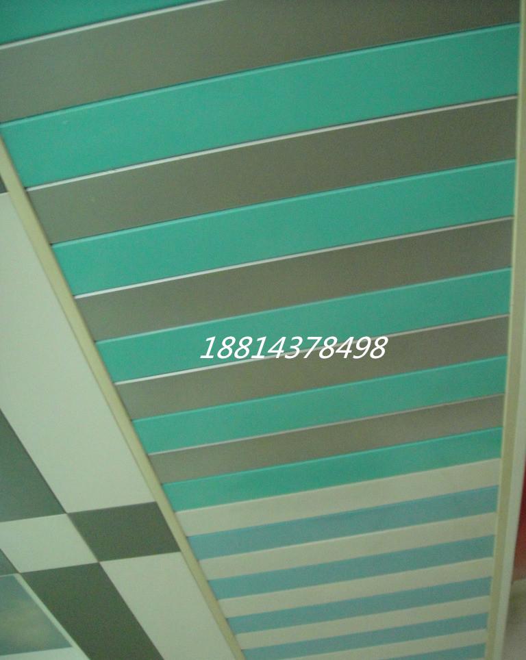 铝条扣吊顶遮阳铝条扣木纹铝条扣