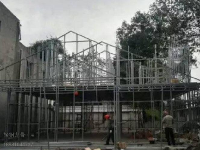 宜宾轻钢别墅多种样式都有防潮防火高强建筑
