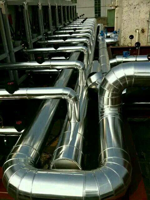 玻璃棉不锈钢管道保温工程防腐保温施工单位