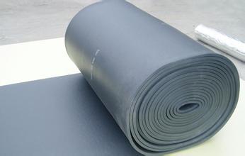 鋁箔貼面橡塑板 背膠橡塑保溫板