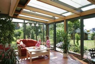 木铝复合阳光房